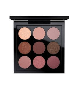Eye Shadow x 9: Burgundy Times Nine -